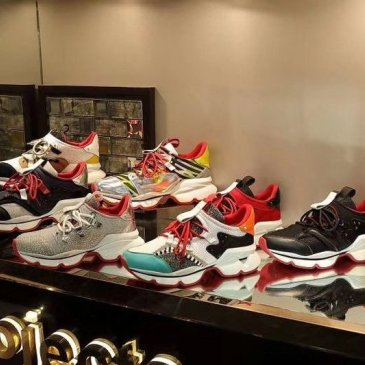 Christian Louboutin Shoes for Men's CL Sneakers #9874552