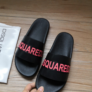 DSQUARED2 Slippers For Men and Women Non-slip indoor shoes #9874625