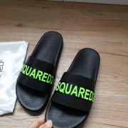 DSQUARED2 Slippers For Men and Women Non-slip indoor shoes #9874626