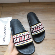 DSQUARED2 Slippers For Men and Women Non-slip indoor shoes #9874627