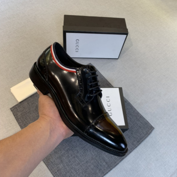 GUCCI Men Leather shoes Gucci Loafers #9130685