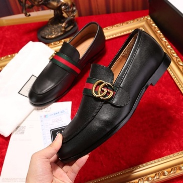 Gucci Shoes for Men's Gucci OXFORDS black #9105277