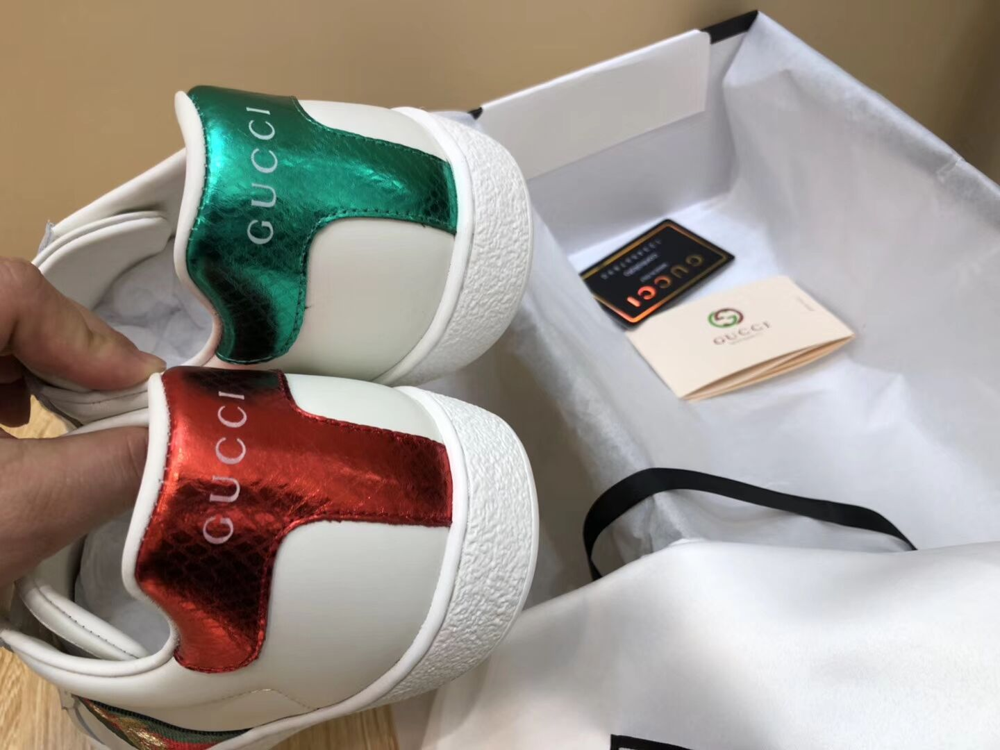62164423a70c ... Mens Gucci Sneakers 1 1 original quality (come with A complete set of  packaging ...