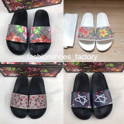 Gucci Men Women Slippers Luxury Gucci Sliders Beach Indoor sandals Printed Casual Slippers #99116707