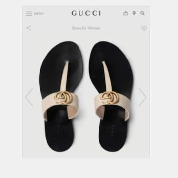 Gucci Shoes for Women's Gucci Slippers #99117920