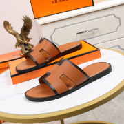 Luxury Hermes Shoes for Men's slippers shoes Hotel Bath slippers Large size 38-45 #9874705