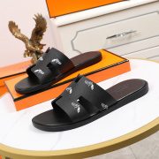 Luxury Hermes Shoes for Men's slippers shoes Hotel Bath slippers Large size 38-45 #9874710