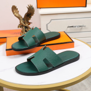 Luxury Hermes Shoes for Men's slippers shoes Hotel Bath slippers Large size 38-45 #9874715