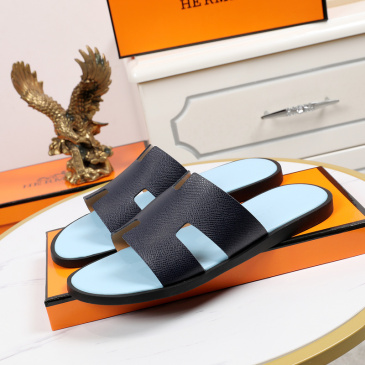 Luxury Hermes Shoes for Men's slippers shoes Hotel Bath slippers Large size 38-45 #9874716