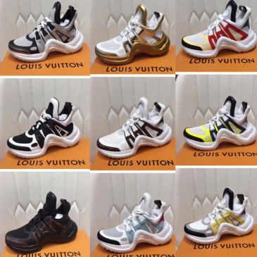 Louis Vuitton Unisex Shoes 2019 Clunky Sneakers ins Hot #9121836