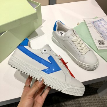 OFF WHITE leather shoes for Men and women sneakers #99874567