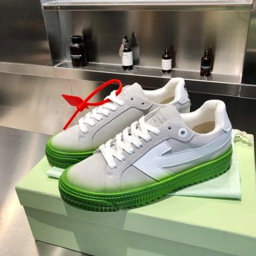 OFF WHITE leather shoes for Men and women sneakers #99874570