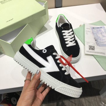 OFF WHITE low 3.0 leather shoes for Men and women sneakers #99874569