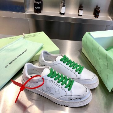 OFF WHITE leather shoes for Men and women sneakers #99874577