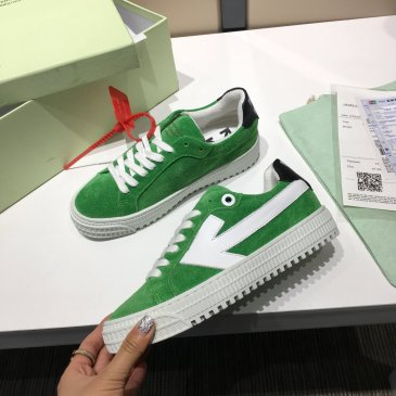 OFF WHITE low 3.0 leather shoes for Men and women sneakers #99874578