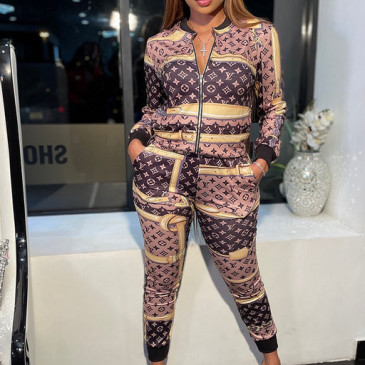 Brand L new 2021 tracksuit for women #99906123