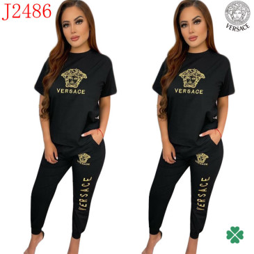 Versace new 2021 tracksuit for women #99906112