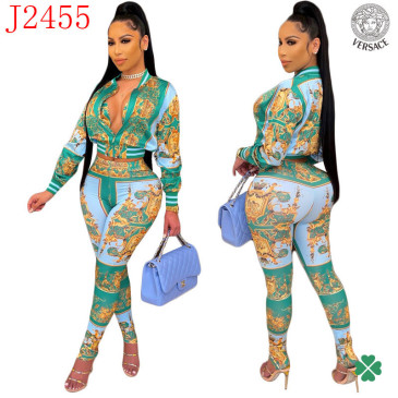 Versace new 2021 tracksuit for women #99906113