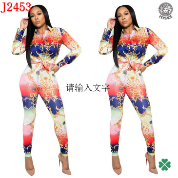 Versace new 2021 tracksuit for women #99906114